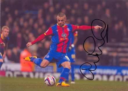 Kevin Phillips, Crystal Palace, signed 12x8 inch photo.